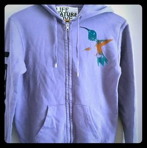 Free City Sherpa Hoodie Small Size 1 Lavender